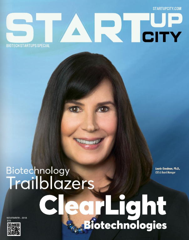 Clearlight Biotechnology Trailblazers Laurie Goodman PhD CEO Startup City