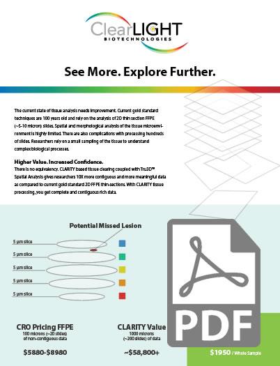 Tru3D Service CLARITY Handout Thumnail PDF
