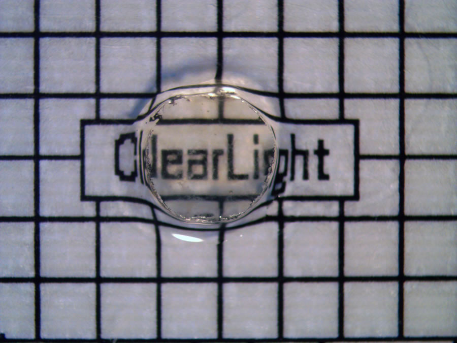 Cleared and RI matched image comparison (MCF7 xenograft) CLARITY ClearLight Tissue Clearing Comparison