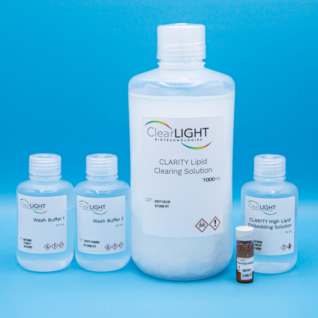 CLARITY Tissue Clearing Kit Reagents - Low Lipid