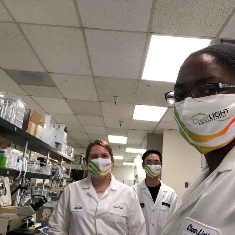 Dr. Sharla White and ClearLight Bio Lab Services Team - Press Resources