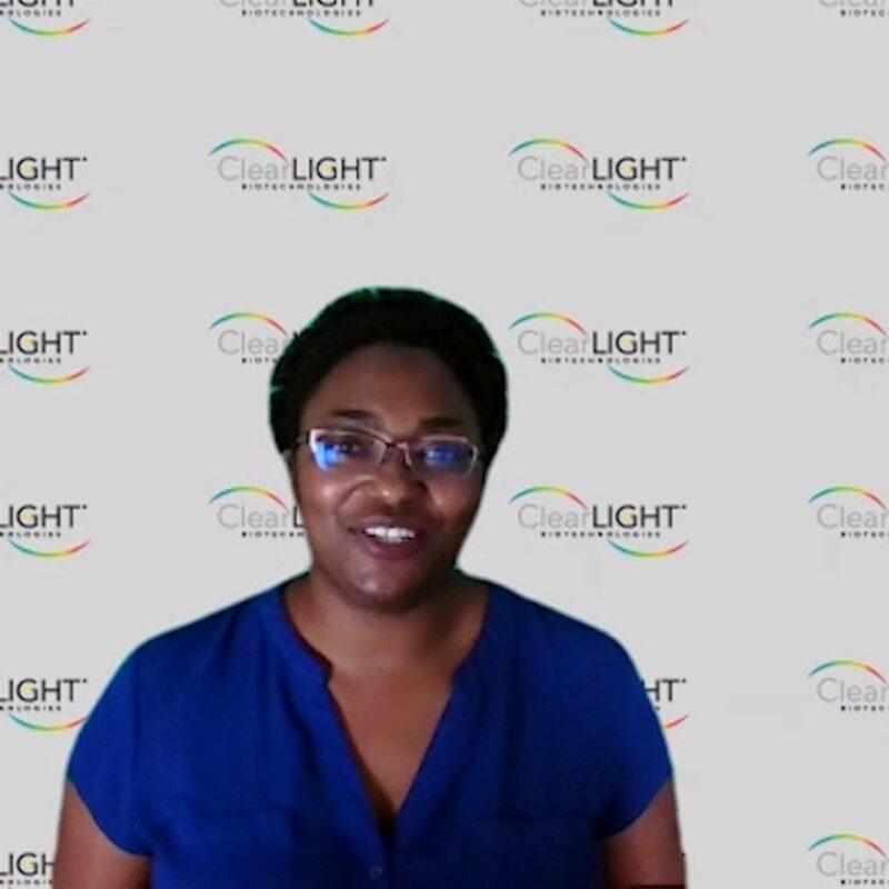 Dr Sharla White Speaking in AACR Webinar
